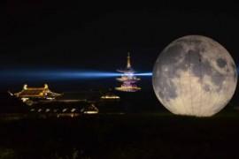 """中国3颗""""人造月亮""""拟2022年升空 亮度可达月光8倍"""
