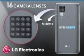摄像头不要钱吗?LG要推搭载16颗摄像头的智能手机