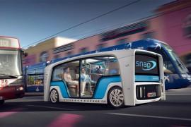 可以变换功能的自动驾驶汽车