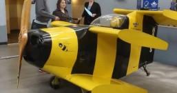 全球最小载人飞机,时速达300公里,可飞4千米高
